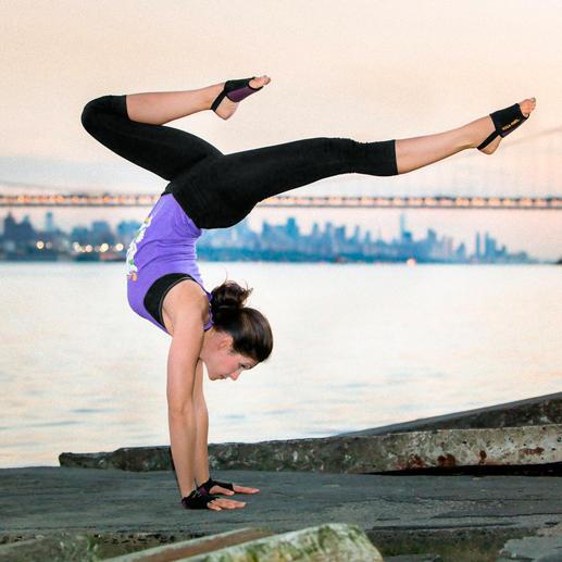 Yoga Paws® - Handliche Polster statt sperriger Matte. Ideal für Yoga und Pilates. Überall.