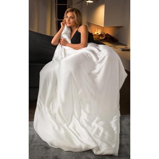 Bettdecke aus Seide, Komfortgrösse 200 x 220 cm