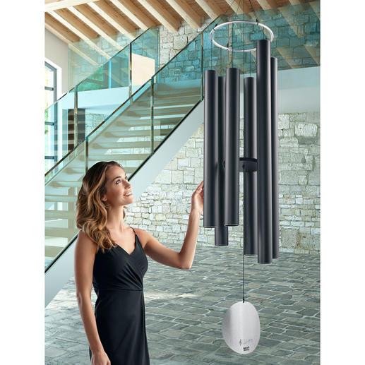 Gigantisches Wind-Klangspiel Eindrucksvoll in Grösse und Klangqualität: Dieses edle Windspiel verzaubert Ihren Garten, Ihre Wellness- und Innenräume.