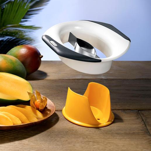 Zyliss® Mangoschneider/-schäler Mangos entkernen, schälen, teilen, ... einfach, schnell und sauber wie nie.