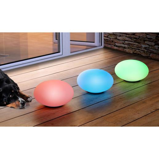 Schaffen Sie eine traumhafte Abendstimmung auf Ihrer Terrasse: Lassen Sie die Farben fliessend ineinander übergehen oder wählen Sie Ihren Lieblingston.