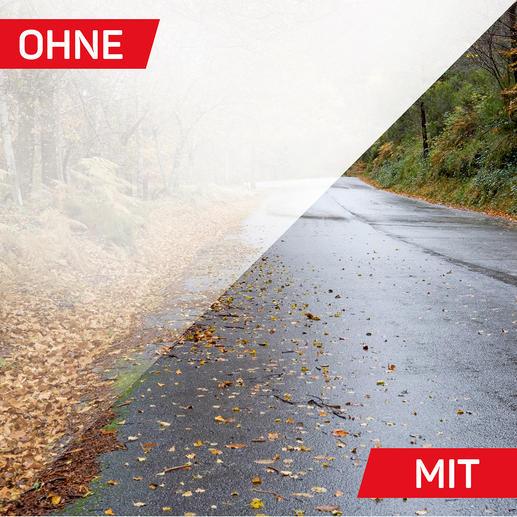 Ob Regen, Schnee oder Sonne: VisClear HD® sorgt für ein angenehmes Bild mit besonderer Detailschärfe und kontrastreicher Objektwiedergabe.