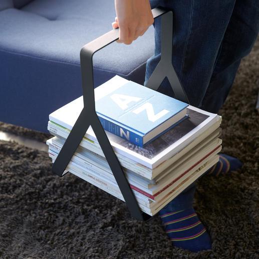 Am 3 cm breiten Bügel bequem zu transportieren.
