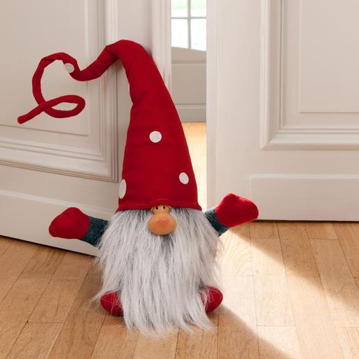 Weihnachtswichtel Julenisse - Im Entree, auf der Treppe, im Wohn- oder Esszimmerzimmer, ... Auch als Türstopper.