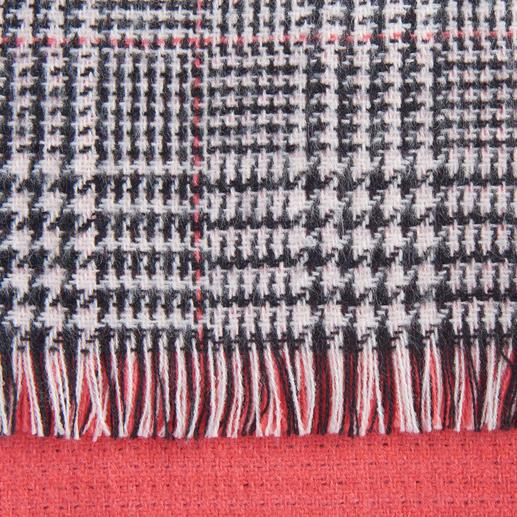 TWINSET Doubleface-Schal, Paprika Fashion-Update für Ihre Jacken und Mäntel: Der Doubleface-Schal von Twinset.