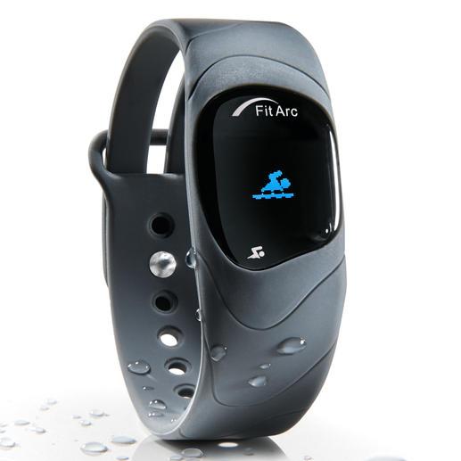 Fitnesstracker Fit Arc®-Reflex - Die innovativen Sensoren des Fitnesstrackers erkennen und analysieren alle Ihre Bewegungsabläufe - auch im Wasser.