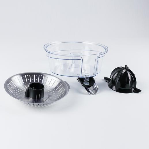 Die abnehmbaren Teile können einfach in der Spülmaschine gereinigt werden.