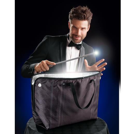 Zipzipbag, 3er-Set - Aus dem Rechteck machen Sie im Handumdrehen eine Umhänge- oder Einkaufstasche oder eine Mappe für Skizzen und Pläne.