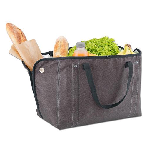 Vielfältig und wandelbar: Verwandeln Sie die Zipzipbags in eine 2fach unterteilten Fashion-Tasche, eine Picknick-Matte, eine grosse Kühl- oder Einkaufstasche, ...