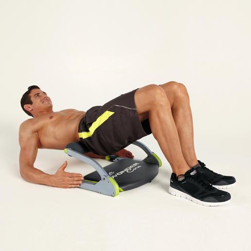 Die Brücke fördert die Beweglichkeit der Wirbelsäule und kräftigt die Rückenmuskulatur.