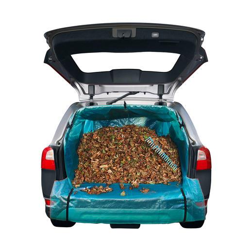 Ob Sie Laub, sperrige Sachen oder sogar einen Weihnachtsbaum in Ihrem Auto transportieren, nichts verschmutzt oder verkratzt mehr.