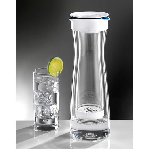 BRITA® Wasserfilterkaraffe Fill & Serve - Macht Leitungswasser zum reinen Genuss. Und serviert mit Stil.