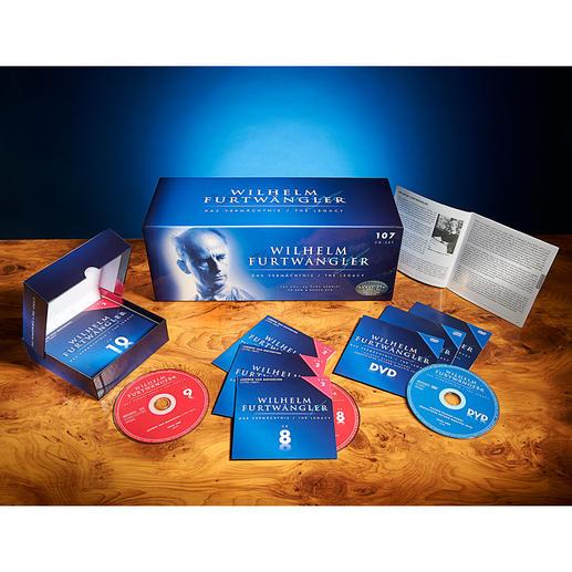 """CD Box Wilhelm Furtwängler """"Das Vermächtnis"""" - 107 CDs, 1157(!) Einspielungen: die Gesamtausgabe zum Lebenswerk Wilhelm Furtwänglers."""