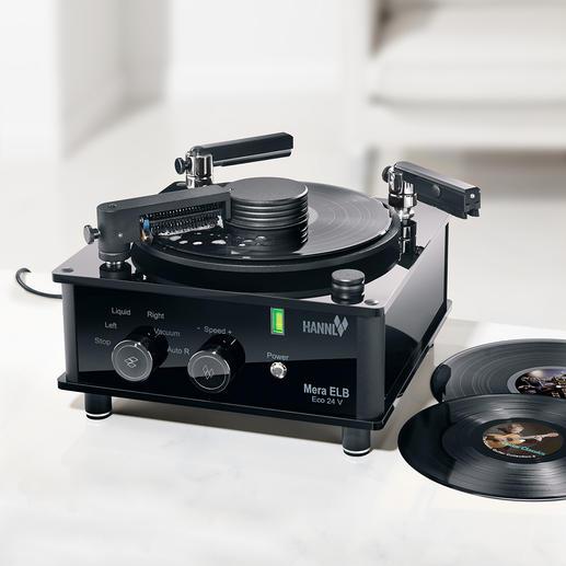 """Schallplatten-Waschmaschine Mera ELB Eco 24 V - Das Nonplusultra der Schallplatten-Wäsche. Hightech """"made in Germany""""."""