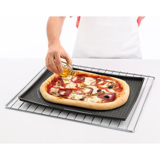 Knusper-Backmatte Endlich eine Backmatte für wirklich knusprige Böden. Ideal für Pizza, Focaccia, Blechkuchen, ...