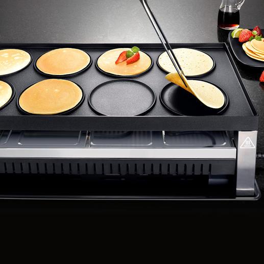 ... oder köstliche Pfannkuchen – direkt auf der Platte.