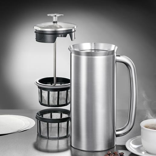Espro®-French-Press - Endlich vollmundiger French-Press-Kaffee ohne Kaffeesatz.
