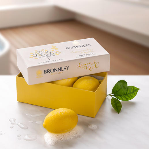 Bronnley`s Lemon Soap, 3er-Set (3 x 100 g) So gut wie schon vor 125 Jahren: Original Bronnley's Lemon Soap.
