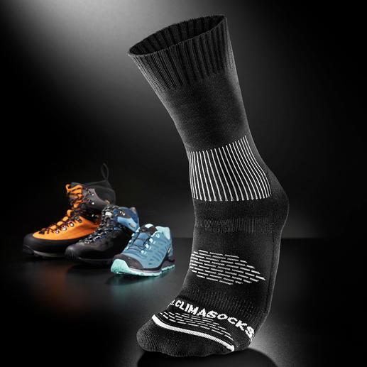 Antiblasen-Socken Die Klima-Socke mit eingebautem Blasenschutz. 2 Stricklagen neutralisieren die Reibung und leiten Feuchtigkeit ab.