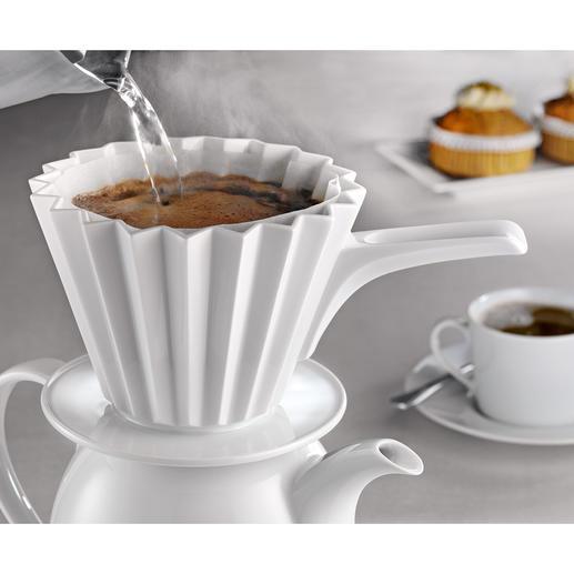 KPM Kaffeefilter Café Berlin Grösse Mit Griff Weiss - Porte filtre café