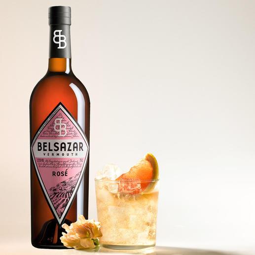 Belsazar Rosé, Vermouth, Deutschland Der hippe Trend in den angesagten Bars: Vermouth in feinster Handwerksqualität.