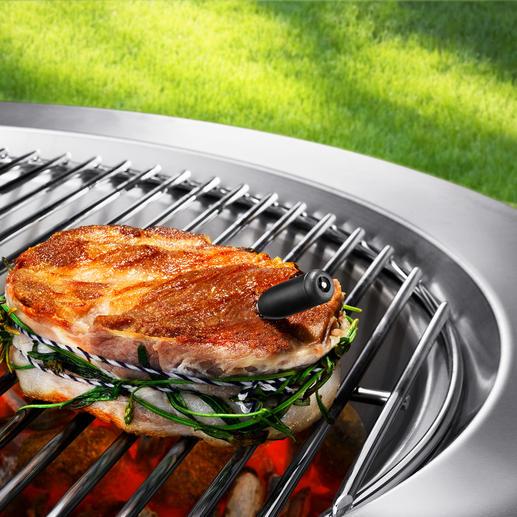 Kabelloses Funk-Küchen-/Grillthermometer Endlich ohne lästiges Fühlerkabel: das Funk-Thermometer für Küche, Backofen und Grill.