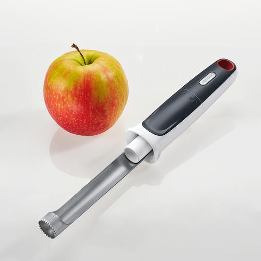 Zyliss Apfelausstecher Mit integriertem Ausstosser. Von Zyliss. Viel schneller und sauberer. Ideal auch für grosse Mengen.