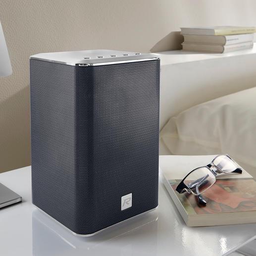 Roberts Multiroom- Musiksystem S300 oder Roberts S1- Multiroom-Lautsprecher - Klangstarker Hifi-Sound in allen Räumen. Kabellos. Vom Hoflieferanten des britischen Königshauses, Roberts.