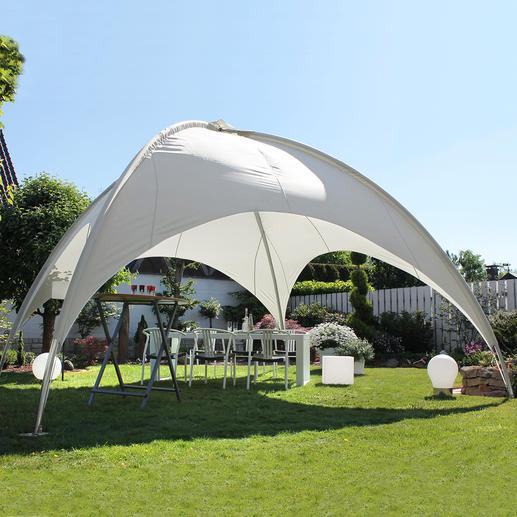 19 m²-Kuppelpavillon - Das Highlight in Ihrem Garten: die 19 m²-Schattenkuppel für Party, Grillabend, zum Relaxen, ...