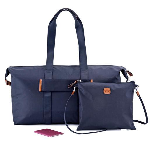 Bric`s 2-in-1-Multi-Bag Leicht, faltbar, vielseitig. Und besonders elegant.