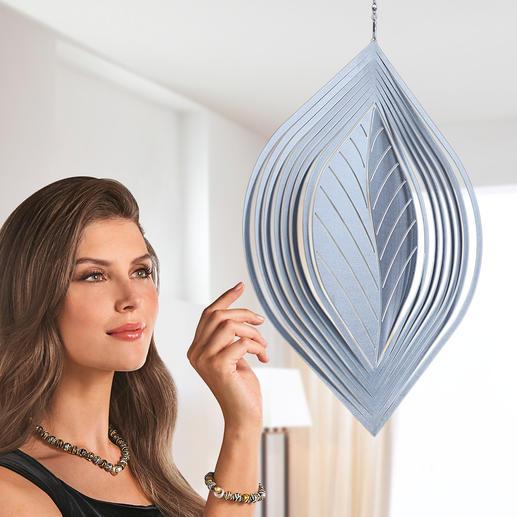 Blatt-Windspiel Die wohl schönste Art, Entspannung zu finden. 100 % outdoortauglich.