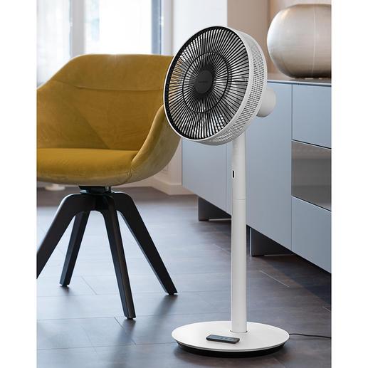 GreenFan Design-Ventilator Der bessere (und schönere) Ventilator: nahezu lautlos und sanft wie eine natürliche Brise.
