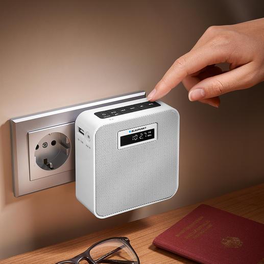 Blaupunkt Steckdosenradio PRB 100 Ihr kabelloses Musikcenter im Kompaktformat. Ideal für zu Hause und unterwegs.