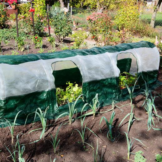 SuperDome Folientunnel Ohne Aufwand: optimale Wachstumsbedingungen für Ihre Pflanzen.