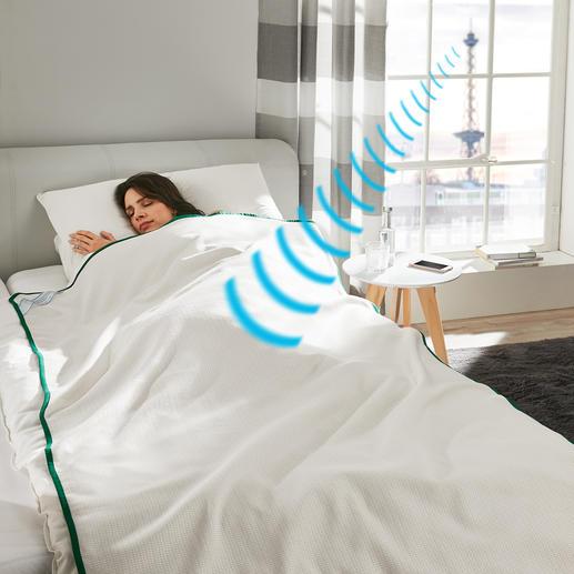 SleepSafe® Abschirmdecke Wirksamer Schutz vor zunehmender Mobilfunk-Strahlung.