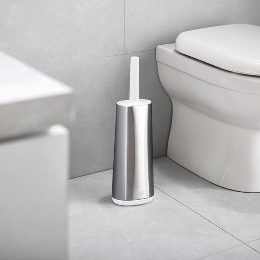 Flexible Silikon-WC-Bürste Flexibler und hygienischer als herkömmliche Toilettenbürsten.