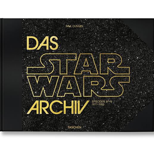 """Buch """"Das Star Wars Archiv"""" Die XXL-Dokumentation zum wohl grössten Kino-Kosmos aller Zeiten. Reich bebildert und mit detaillierten Hintergrund-Informationen."""