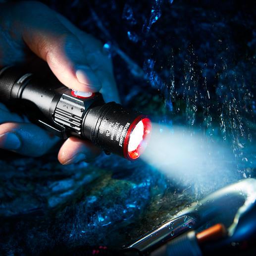 Kompakt-Taschenlampe Eco Beam Pro Die bessere Kompakt-Taschenlampe: mit integrierter USB-Ladefunktion. Ohne zusätzliches Kabel aufladbar.