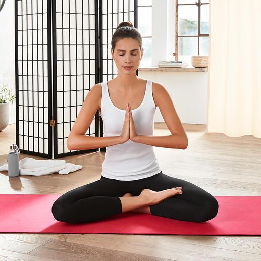 mantrafant Yogamatte - Die bessere Yogamatte für Sie – und für unsere Umwelt. Schadstofffrei. Recyclebar. Nachhaltig.