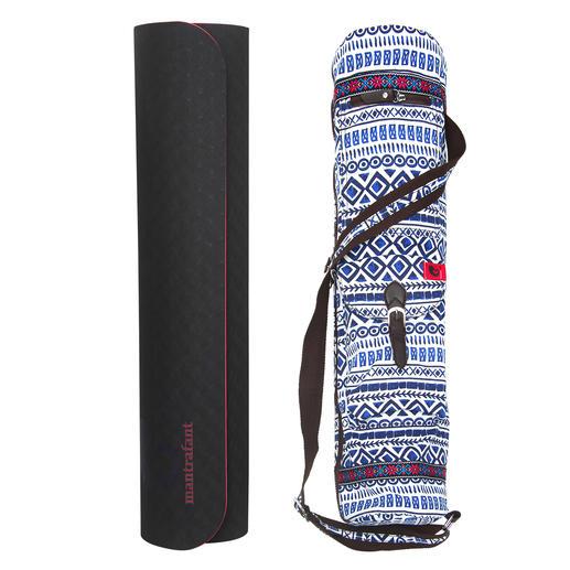 Im Lieferumfang enthalten: Die stylische und praktische Baumwoll-Tasche.