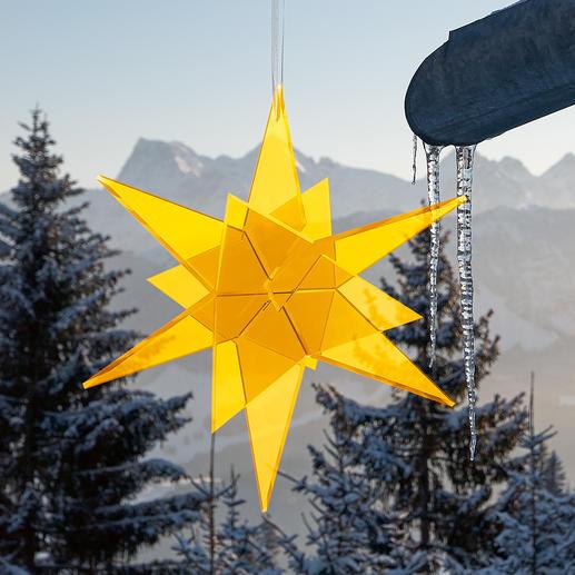 Cazador-del-sol® Sonnenfänger-Sterne Spektakulär auf grossen Events – und in Ihrem Garten. Rein durch Tageslicht wird das Leuchten entfacht.