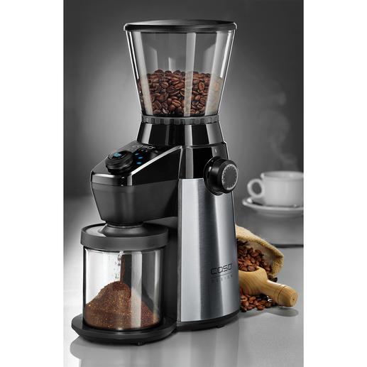 Caso Kaffeemühle Barista Flavour Die perfekte Ergänzung zu Ihrem Siebträger-Automaten. Und für aromatisch frischen Filterkaffee.