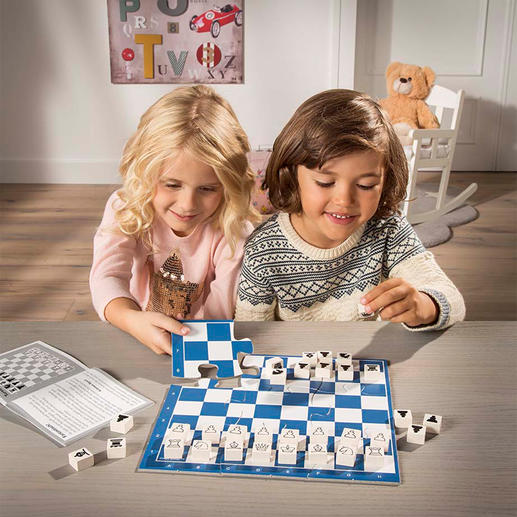 Chess Junior - Kinderleicht Schach lernen – mit ganz viel Spannung und Spass.