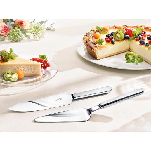 Tortenbesteck Schneidet und serviert Torten und Kuchen aller Art: sauber und stilvoll.