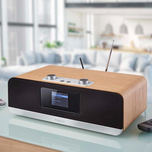 Roberts Komplett-Musiksystem stream 67 Roberts Komplett-Musiksystem stream 67 – stylish, soundstark und aussergewöhnlich vielseitig ausgestattet.