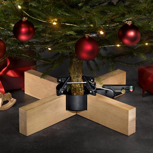 """Christbaumständer """"Kopenhagen"""" Puristisch elegant, stabil, mit bequemem Pedal: der Christbaumständer in prämiertem Design."""