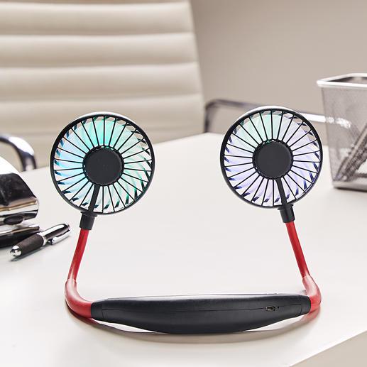 Ideal auch als Tischventilator für den Schreib- oder Nachttisch.