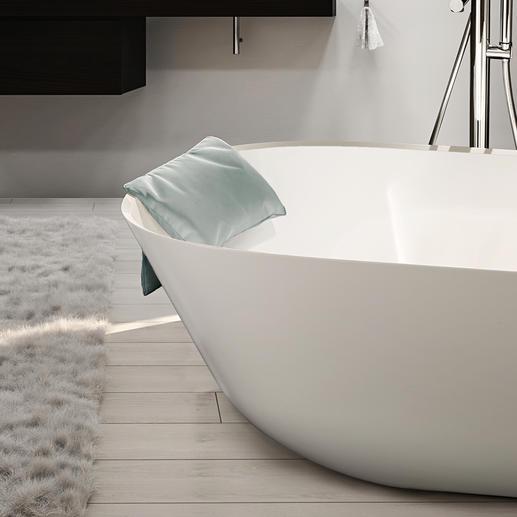 Badewannen-KissenLOFT Viel eleganter und bequemer: das waschbare Komfort-Nackenkissen für die Badewanne.