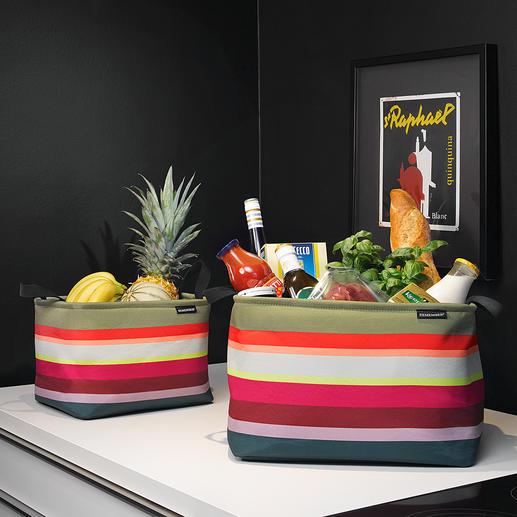 Korb-Set, 3-tlg. So schön kann Ordnung sein: Stylishe Aufbewahrungskörbe in aussergewöhnlich stimmiger Farbpracht.