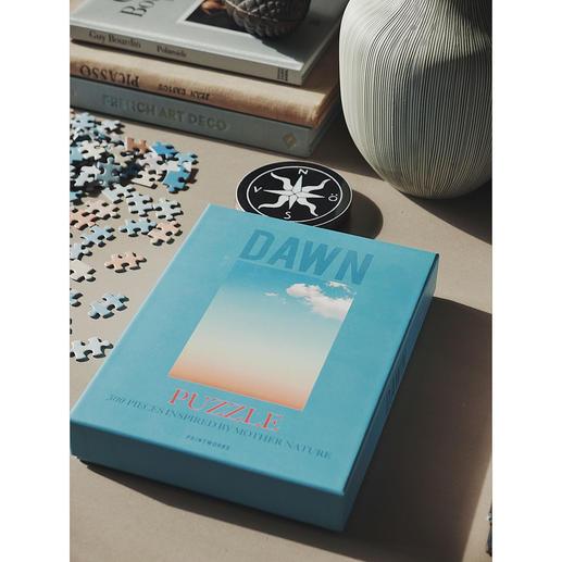 Puzzle Sky Series Tag und Nacht als künstlerische Fotomotive. Und ganz schön kniffelig, mit je 500 Teilen.